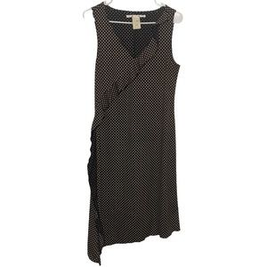 Max Studio Sleeveless Diagonal Star Dress Large